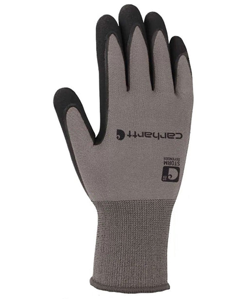 Carhartt Men's Thermal Lined Waterproof Nitrile Grip Glove - Grey at Dave's New York
