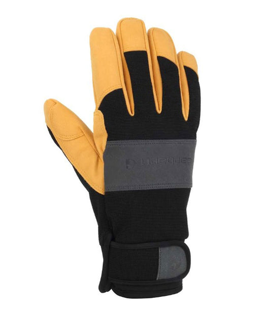 Carhartt Men's Waterproof High Dexterity Glove - Black/Barley at Dave's New York