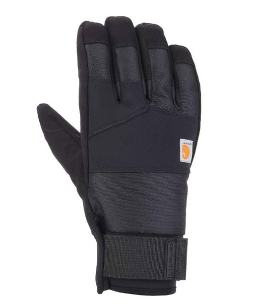 Carhartt Men's Stoker Insulated Waterproof Gloves - Black at Dave's New York