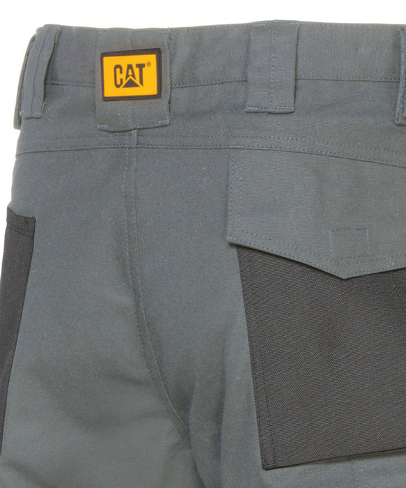 Caterpillar Trademark Trousers (with holster pockets) - Army Moss