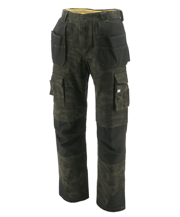Caterpillar C172 Trademark Trouser (with holster pockets) – Night Camo