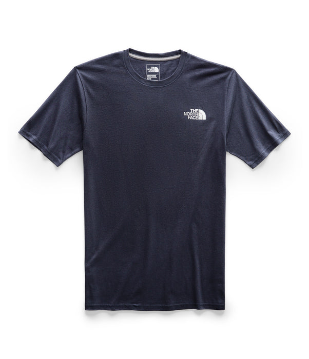 The North Face Men's Short Sleeve Red Box Tee - Urban Navy