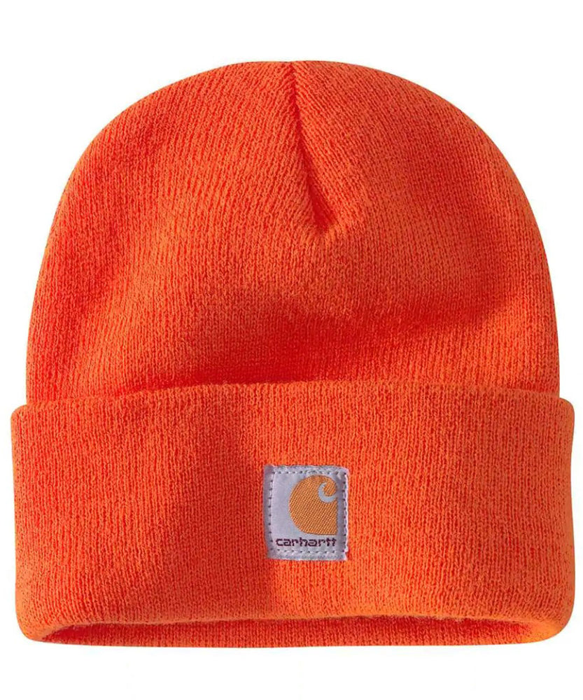 Carhartt Kids Acrylic Watch Hat (Beanie) - Brite Orange at Dave's New York