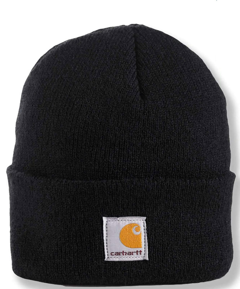 Carhartt Kids Acrylic Watch Hat (Beanie) - Caviar Black at Dave's New York