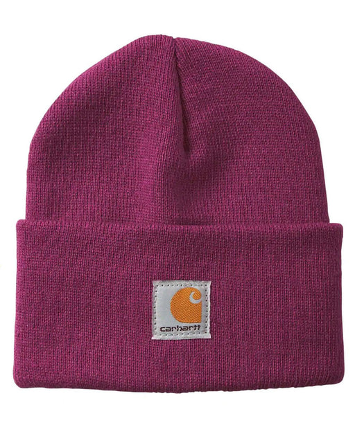 Carhartt Kids Acrylic Watch Hat (Beanie) - Plum Caspia at Dave's New York