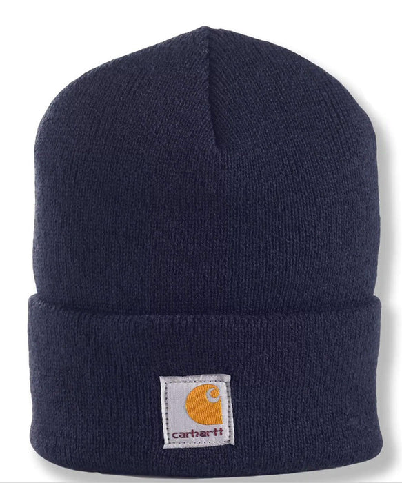 Carhartt Kids Acrylic Watch Hat (Beanie) - Peacoat Navy at Dave's New York