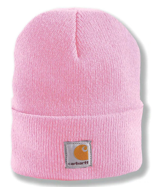 Carhartt Kids Acrylic Watch Hat (Beanie) - Rose Bloom at Dave's New York