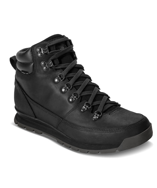 The North Face Men's Back to Berkley Redux Leather Boots in TNF Black at Dave's New York