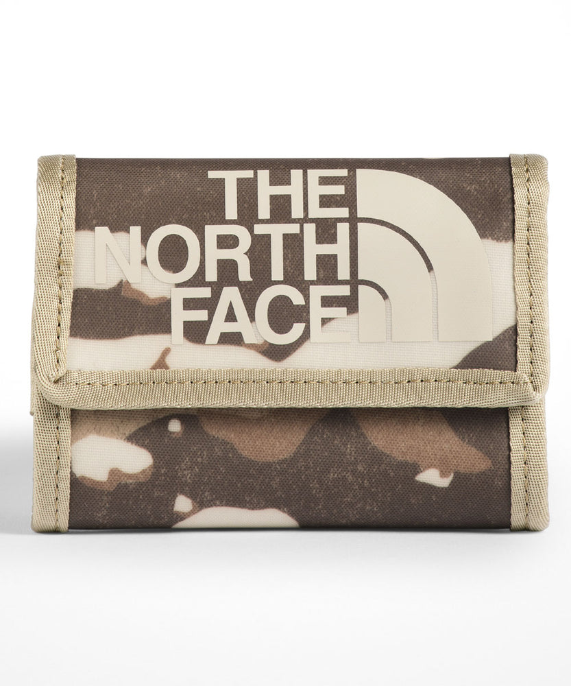 The North Face Base Camp Wallet - Moab Khaki Woodchip Camo Desert Print