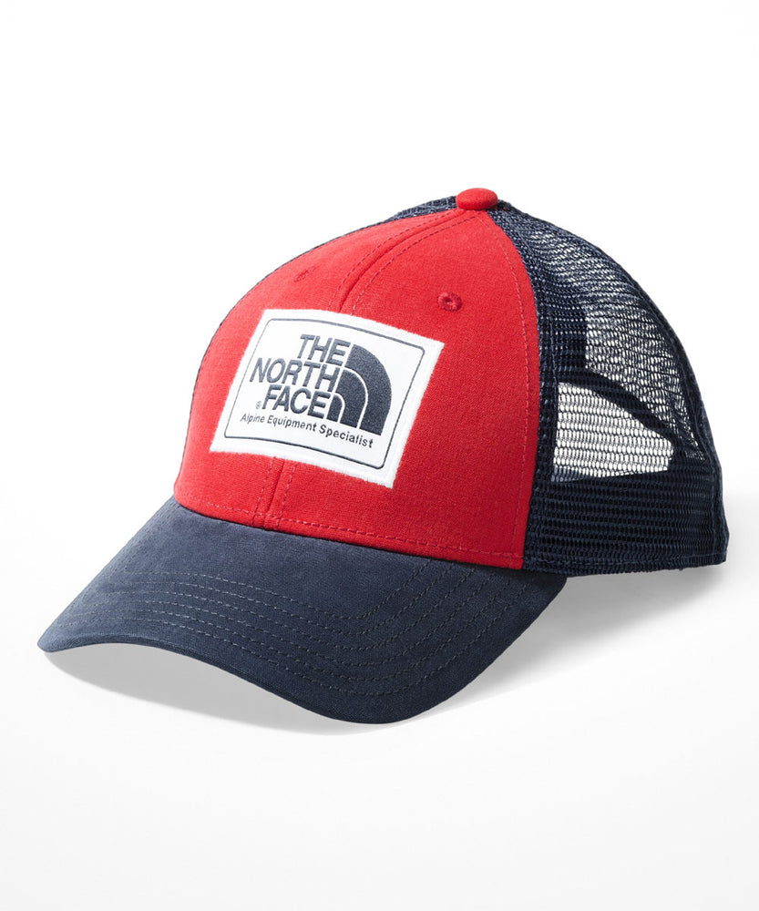 The North Face Mudder Trucker Cap - TNF Red/Urban Navy