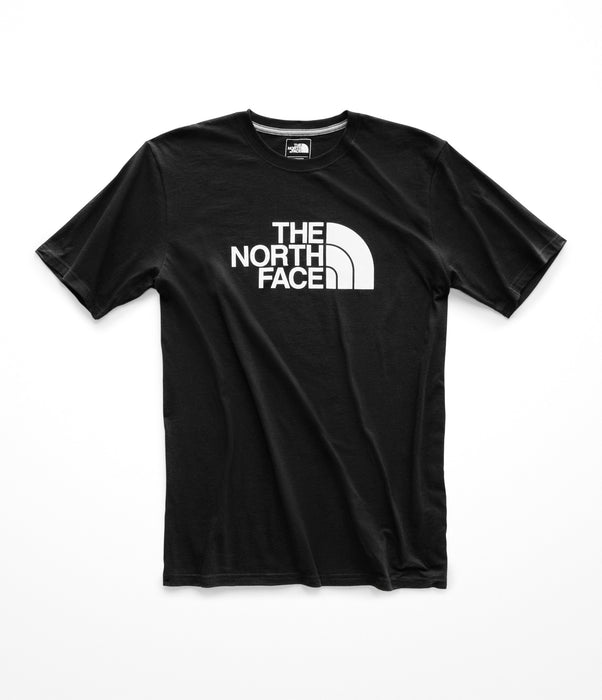 The North Face Men's Short Sleeve Half Dome Logo Tee - TNF Black/TNF White