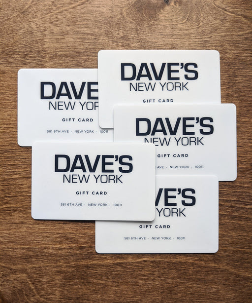 Dave's New York Gift Cards
