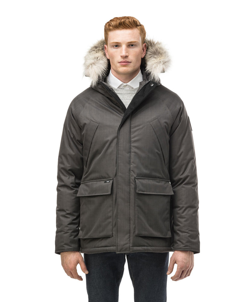 Nobis Men's Heritage Down Insulated Parka - Steel