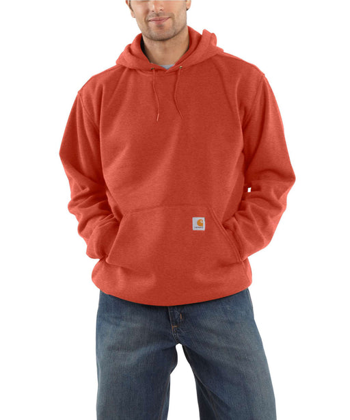 Carhartt Men's Midweight Pullover Hooded Sweatshirt - Cayenne Heather at Dave's New York
