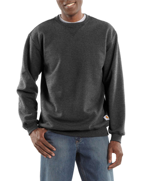 Carhartt Midweight Crewneck Sweatshirt – K124 – Carbon Heather