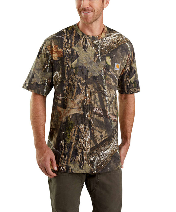1d436cee Carhartt Camo Short-Sleeve T-Shirt – Mossy Oak Camo — Dave's New York