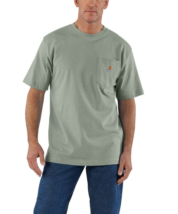 Carhartt K87 Workwear Pocket T-Shirt - Botanic Green