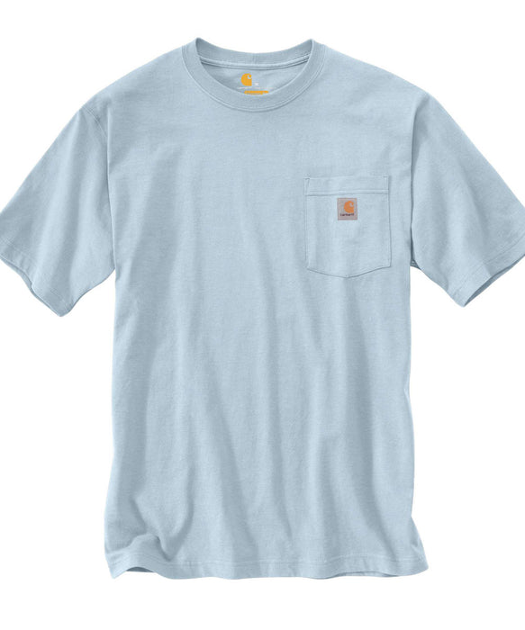 Carhartt K87 Workwear Pocket T-shirt in Soft Blue at Dave's New York