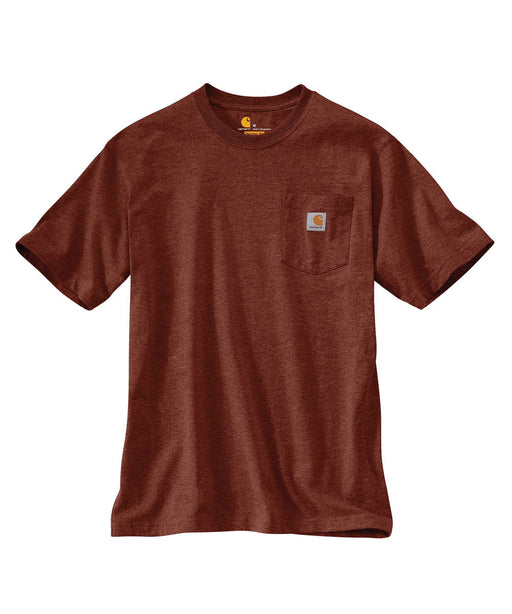 Carhartt K87 Workwear Pocket T-Shirt - Iron Ore Heather