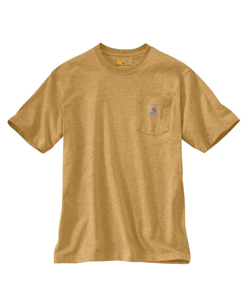 Carhartt K87 Workwear Pocket T-Shirt - Yellowstone Heather