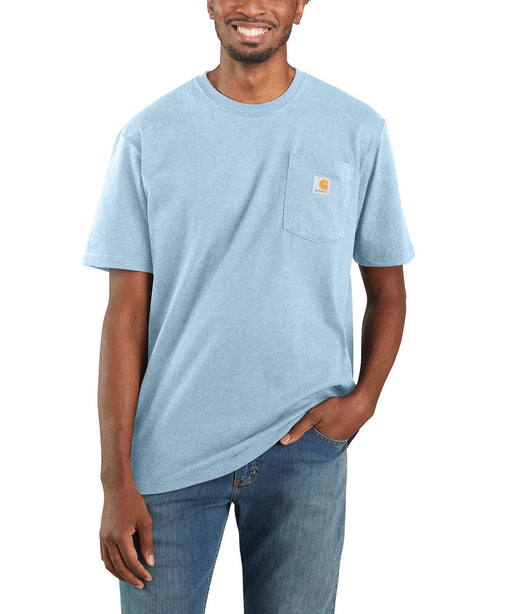 Carhartt K87 Workwear Pocket T-Shirt - Tourmaline Heather at Dave's New York