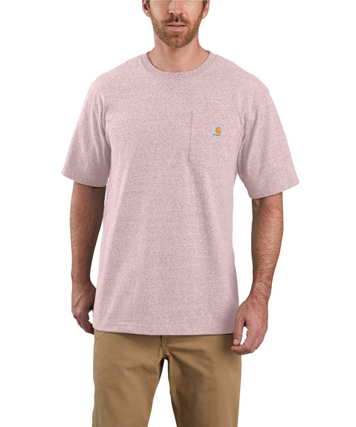 Carhartt K87 Workwear Pocket T-Shirt - Crepe Snow Heather at Dave's New York