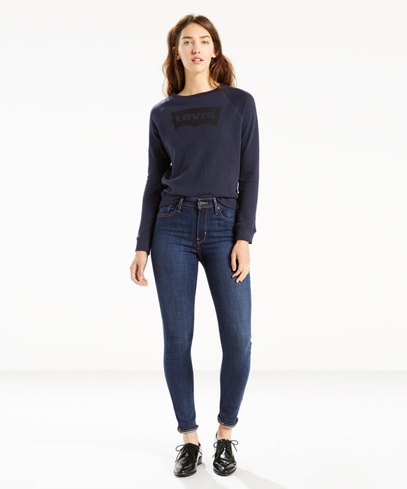 Levi's Women's 721 High Rise Skinny Jeans in Blue Story at Dave's New York