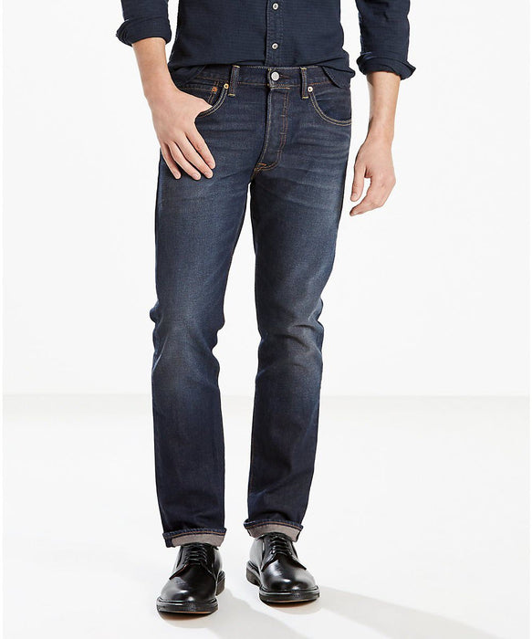 Levi 501 Original Fit Jeans in Anchor Stretch at Dave's New York