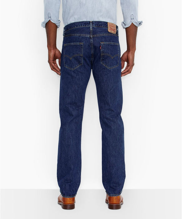 Levi's Men's 501 Original Fit in Dark Stonewash at Dave's New York
