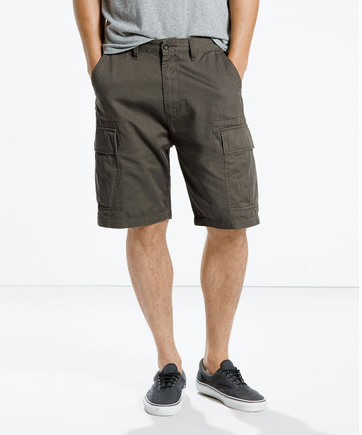 Levi Men's Carrier Cargo Shorts – Graphite Ripstop