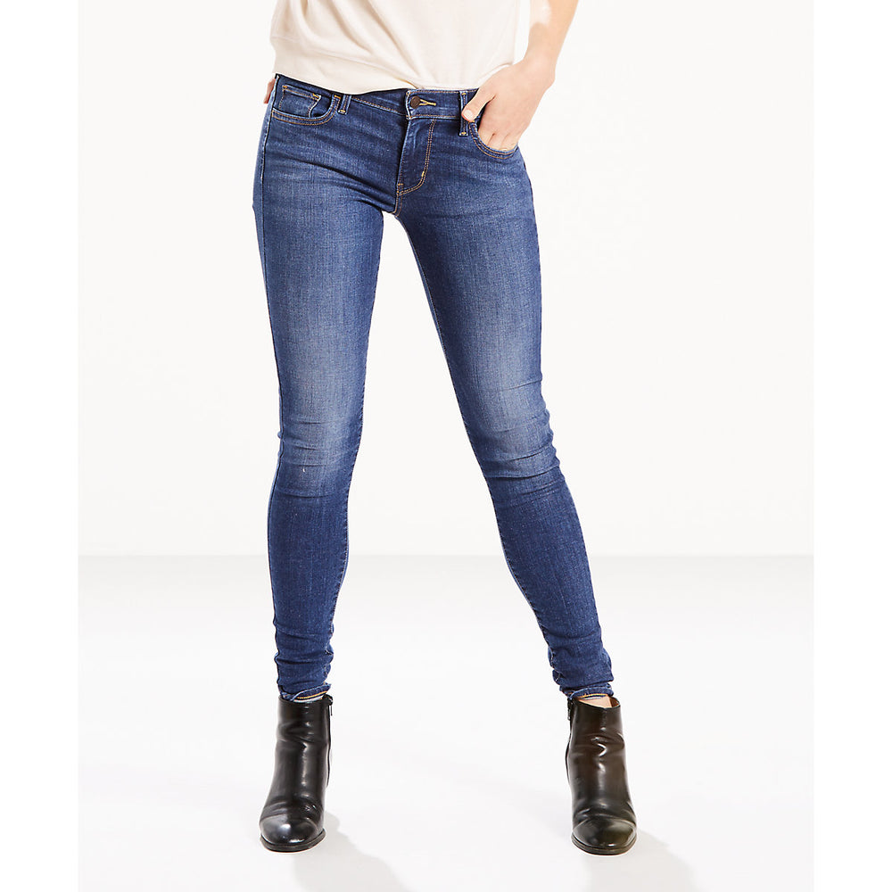 Levi's Women's 710 Super Skinny Jeans in Frolic Blue at Dave's New York