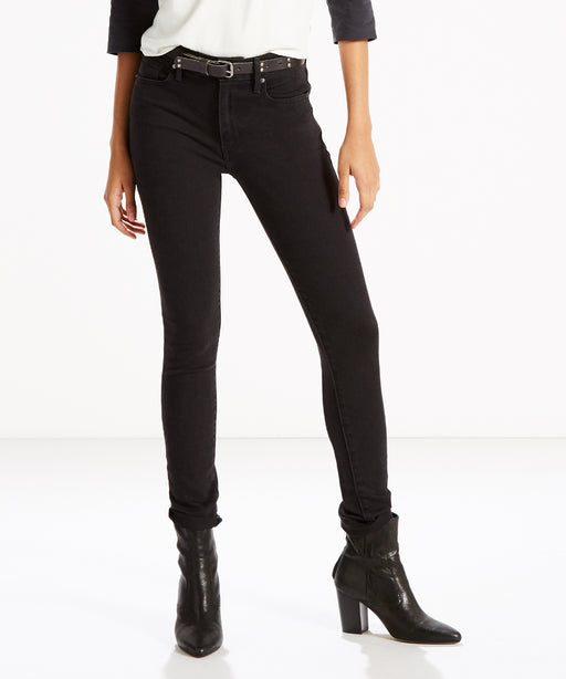 Levi's Women's 721 High Rise Skinny Jeans in Soft Black at Dave's New York