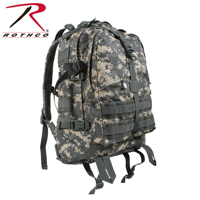 Rothco Large Transport Pack in ACU Digital Camo at Dave's New York