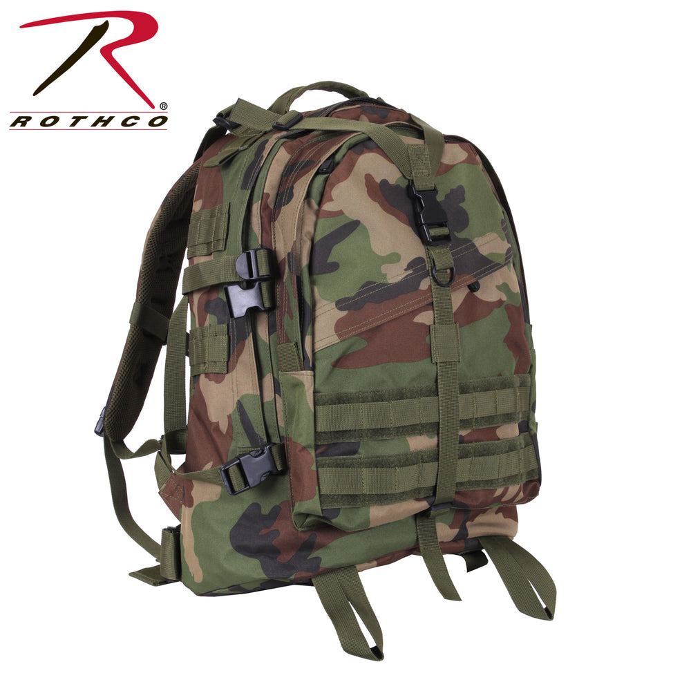 Rothco Large Transport Pack - Woodinand Camo at Dave's New York