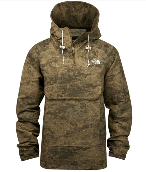 The North Face Men's Class V Printed Fanorak - Military Olive Cloud Camo Wash Print