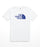 The North Face Men's Short Sleeve Tri-Blend Tee - TNF White/Aztec Blue