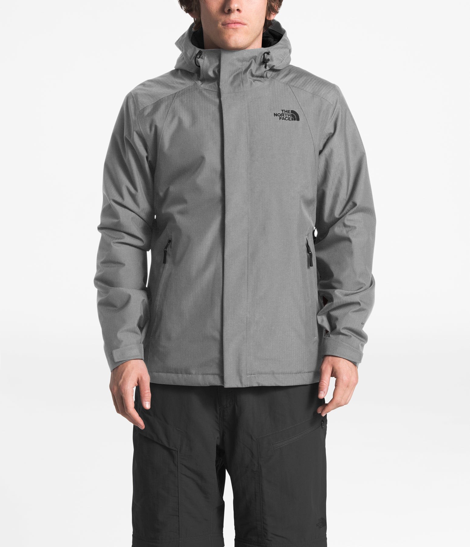79a4a932b The North Face Men's Inlux Insulated Jacket - A2TBR - TNF Medium Grey  Heather
