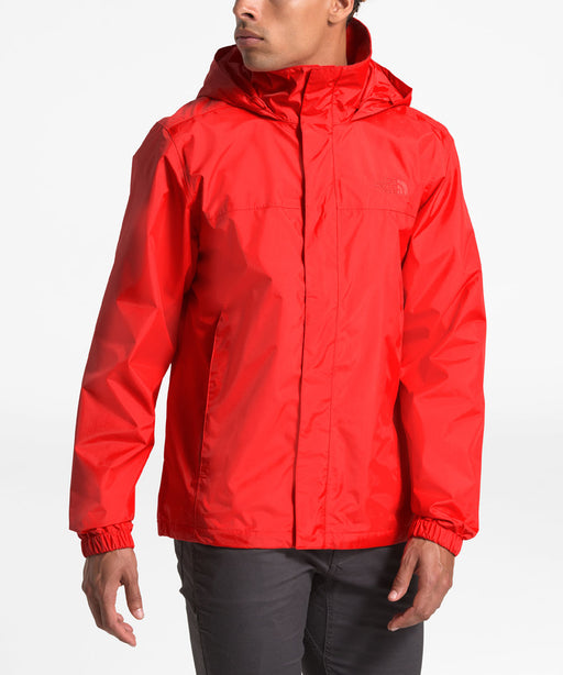 The North Face Men's Resolve 2  Waterproof Rain Jacket in Fiery Red at Dave's New York