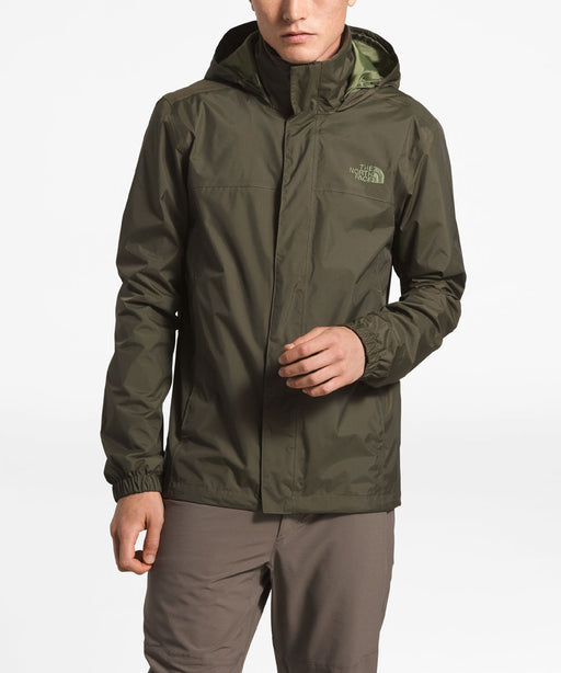 The North Face Men's Resolve 2  Waterproof Rain Jacket - New Taupe Green