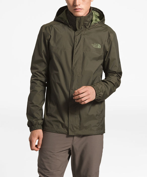 The North Face Men's Resolve 2  Waterproof Rain Jacket in New Taupe Green at Dave's New York
