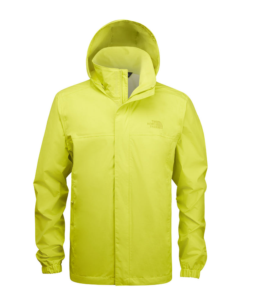 The North Face Men's Resolve 2 Waterproof Rain Jacket - Sulphur Green at Dave's New York