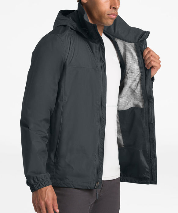 The North Face Men's Resolve 2  Waterproof Rain Jacket in Asphalt Grey at Dave's New York