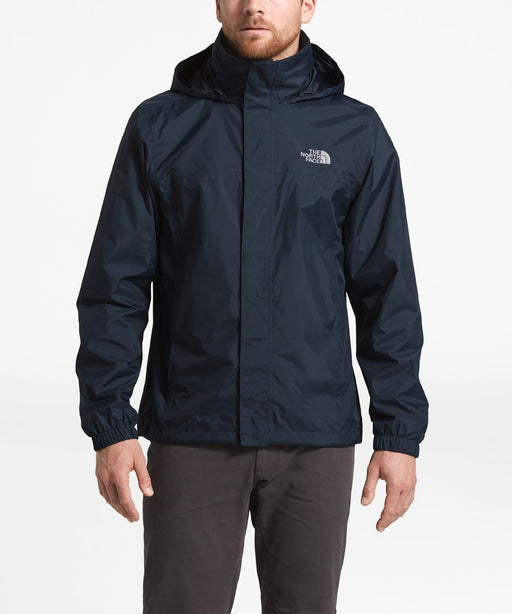 The North Face Men's Resolve 2  Waterproof Rain Jacket - Navy/Grey