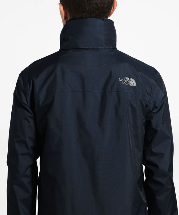 The North Face Men's Resolve 2  Waterproof Rain Jacket in Navy/Grey at Dave's New York