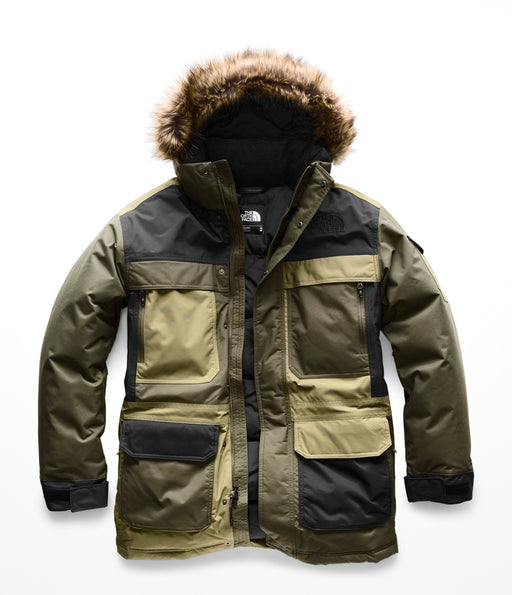 The North Face Men's McMurdo Parka III (NF0A33RF) – New Taupe Green Combo