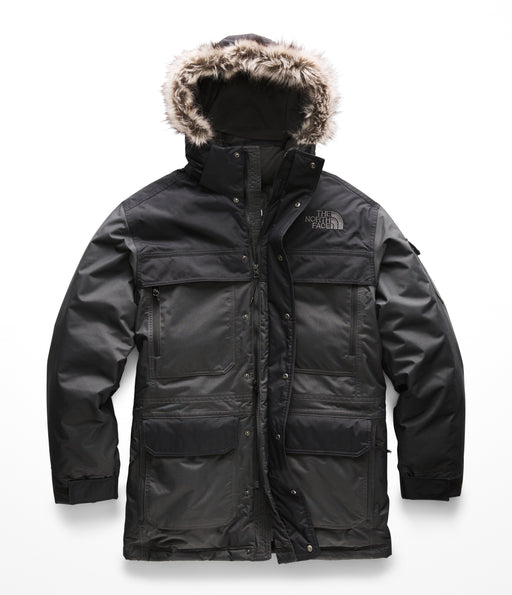 The North Face Men's McMurdo Parka III (NF0A33RF) – Asphalt Grey / TNF Black
