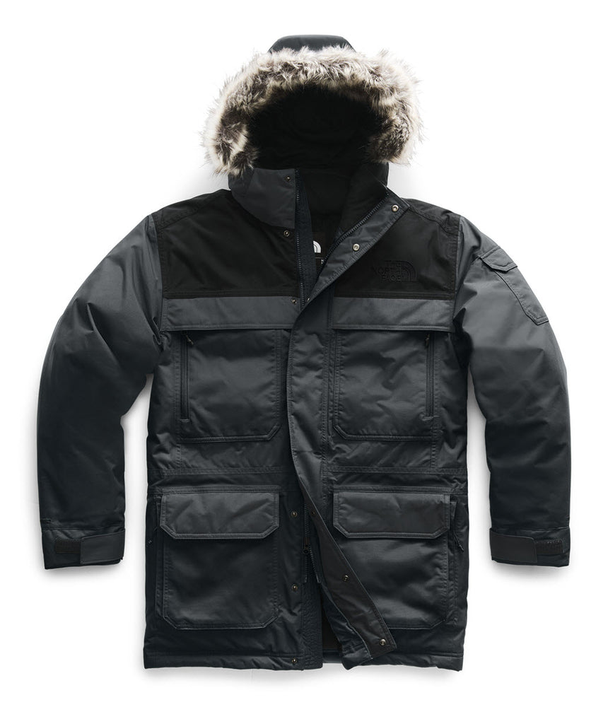 The North Face Men's McMurdo Parka III – Asphalt Grey/TNF Black