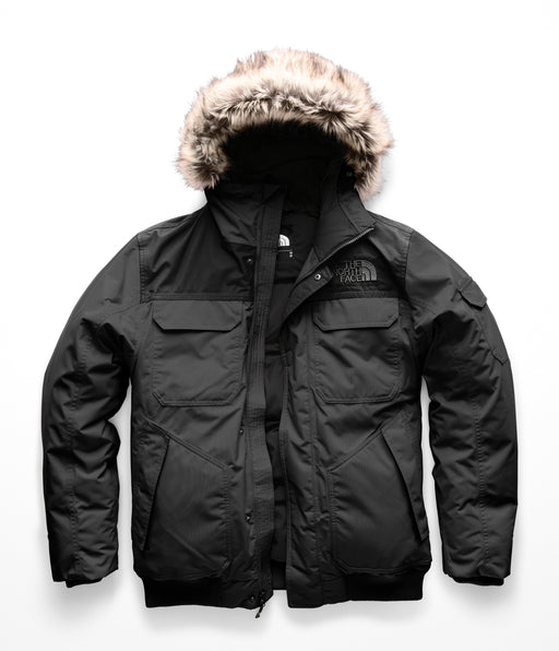 The North Face Men's Gotham III Jacket – Asphalt Grey / TNF Black