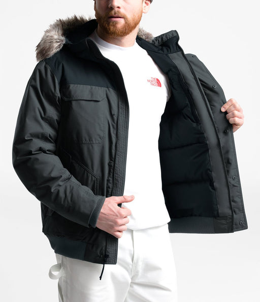 The North Face Men's Gotham III Jacket in Asphalt Grey/TNF Black at Dave's New York