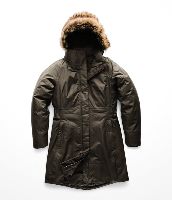 The North Face Women's Arctic Parka II Down Insulated in New Taupe Green at Dave's New York
